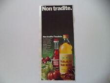 advertising Pubblicità 1970 BERIO OLIO ACETO