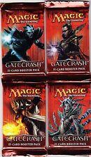 MTG Magic The Gathering Gatecrash Factory Sealed Booster Pack Lot x4