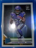 2019 Donruss Optic Alexander Mattison RC No.181 Vikings Rated Rookie