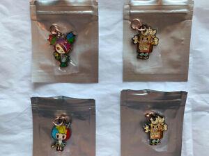 JuJuBe x Tokidoki Kawaii Carnival Zipper Pulls (Never Used) Sandy