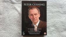 The Peter Cushing Collection DVD RARE UK R2 HORROR BOXSET AMICUS HAMMER VGC