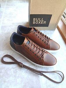 Bull Boxer Cognac Sylon Sneaker Shoe, Men (9,10,11) New - Free Shipping