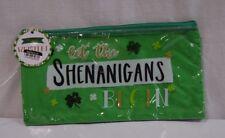 St Patricks Day Let The Shenanigans Begin Wristlet