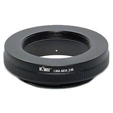 Adapter Mount Ring Leica M39 Lens to Camera Photo Sony NEX E-Mount NEX-3 NEX-5