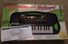 Kawasaki toy keyboard w/handle, kids 2.5 octave/32-key portable, mini piano, HTF