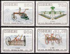Ciskei 1992 Mi 220-223 Landbouwgereedschappen, Farm implements MNH