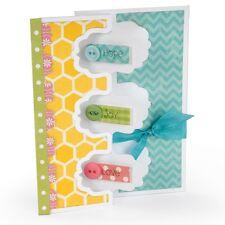 Sizzix Framelits Die Set ( 9 PK) - Card, Triple Fancy Frame Flip-its  659176