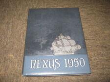 1950 Nexus Hofstra College Hempstead New York yearbook