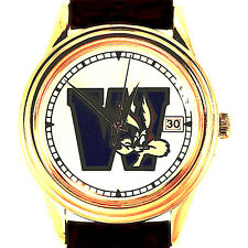 Wile E Coyote Fossil With Date Easy Read Dial, Warner Bros New Unworn Watch! $39