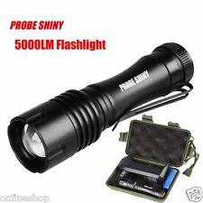 Q5 5000Lumens AA/14500 3Mode ZOOM LED Super Bright Flashlight MINI Police Torch