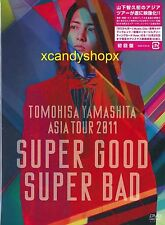 Yamashita Tomohisa ASIA TOUR 2011 SUPER GOOD SUPER BAD 2DVD+64P Japan LTD edn