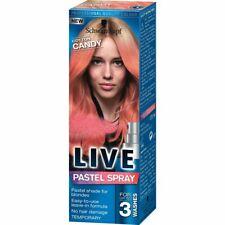 Schwarzkopf Live Pastel Spray Hair Color Candy Cotton 125 ml Spray