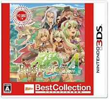 New Nintendo 3DS Rune Factory 4 Best Collection Japan 4535506302670 2017.10