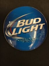"""Bud Light Medallion Badge 3"""" Beer Tap Faucet Tower Advertisement New Free Ship"""