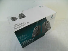 Logitech Z130 Wired Black Computer Stereo Speakers 5W Volume Control 980-000417