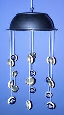 BEER Mobile Wind Chimes Bottle Tops Cap Novelty Gift Man Cave Corona Lightweight