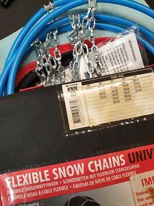 Carpoint Snow Chains KNN 80. Brand New.
