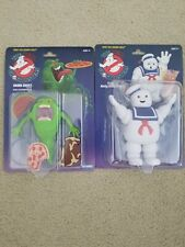 Real ghostbusters 2020 slimer And Stay Puft marshmallow man. Walmart exclusives