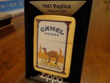 NEW YORK CAMEL STATE COLLECTORS PACK BRUSH BRASS ZIPPO LIGHTER 2010