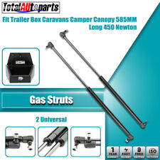 2x 585MM 450N Gas Struts for Caravans Camper Trailers Canopy Toolboxes Cabinets