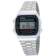 Casio digital watch retro unisex Illuminator A168WA UK Seller