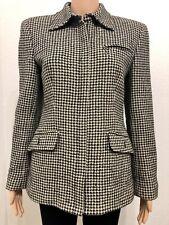 Lauren Ralph Lauren Women's Size 4 Wool Suit Jacket Blazer Zipper Front (D)