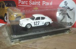 VEHICULE MINIATURE  1/43 metal rallye TOUR DE FRANCE  ALPINE  A 106 1958 MICHY