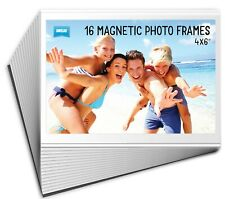 16 Pack Shot2Go Magnetic Picture Photo Fridge Frames (Holds a 6x4 inch photo)