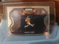 LeBRON JAMES 2020-21 Panini Prizm BASE CARD KOBE DUNK Tribute Lakers #1