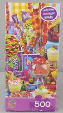 Jigsaw puzzle Munchies Sugar High 500 Piece Nerds Wonka Laffy Taffy Sweetarts