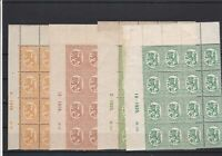 Finland Mint Never Hinged Stamps Blocks ref R 18368