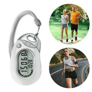 Step Counting Pedometer Portable Step Counter Walking Distance Counting