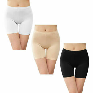 Women Elastic Safety Soft Short Under Shorts Leggings Pants Anti Chafing UK 8-18