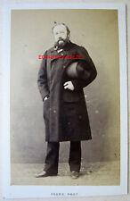 CDV PHOTO PESME à PARIS Mr PIGNOLET CHORALE DE MACON 1863 BANQUET SAINTE CÉCILE