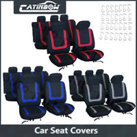 Auto Seat Covers for Car Sedan Truck Van Universal Seat Covers 3 Colors NEW