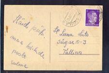 Germany(Ostland), 1942, new years card  from Viru-Kobala to Tallin with Nr:5