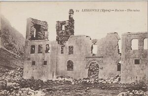 1930 GREECE ALBANIA EPIROS LESCOVICI KORIZA THE RUINS