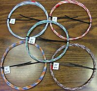 24 AWG Silver Plated PTFE Wire Assortment 50 feet 19 strand made in the USA SPC