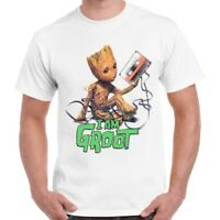 Baby Groot Guardians Of The Galaxy Cool Gift Retro T Shirt 516