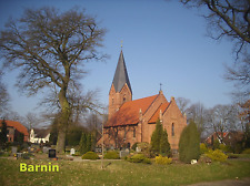 AK Dorfkirche Barnin (bei Crivitz)
