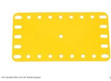 "Part 191 - yellow 4.5""x2.5"" flexible - 10 pieces"