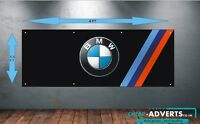 CAR LOGOS BMW 1 - Workshop, Garage, Office or Showroom PVC BANNER - Any size