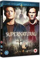 SUPERNATURAL 2009 COMPLETE SERIES 4 Jensen Ackles, Misha Collins, NEW UK R2 DVD