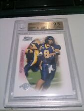 2005 Topps Draft Picks & Prospects AARON RODGERS Packers Rookie BGS 9.5 Gem MT