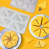 3D 8 Silicone Cheese mousse cake Mold DIY Chocolate Mould Trays home Baking