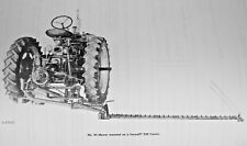 IH McCormick No 24 2pt Fast Hitch Sickle Mower Owners Manual Farmall Super C 200