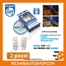 2 LAMPADINE 5W5 T10 LED 4000K PHILIPS MERCEDES CLASSE A A 180 CDI KW:80 2012> 12