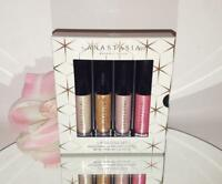 Anastasia Beverly Hills Lip Gloss 4pc Mini Gift Set Kit Limited Holiday 2018