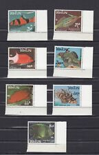 TIMBRE STAMP  7 LAOS  Y&T#817-23 POISSON FISH NEUF**/MNH-MINT 1987 ~B70