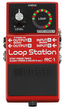 BOSS RC 1 LOOP STATION-EFFETTO LOOPER A PEDALE PER CHITARRA
